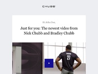 Chubb   email   new video