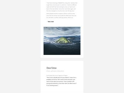 Ueno Newsletter: August 21, 2018 email design newsletter