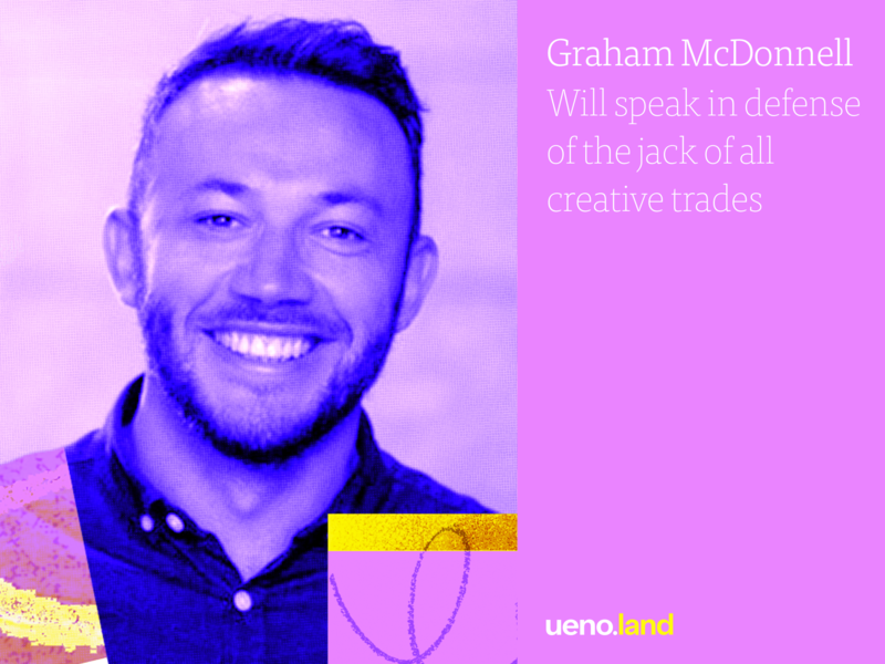 Graham Mcdonnell at Uenoland