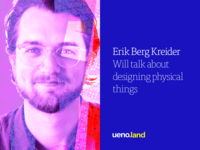 Erik Berg Kreider is coming to Uenoland