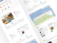 Google+ overview page