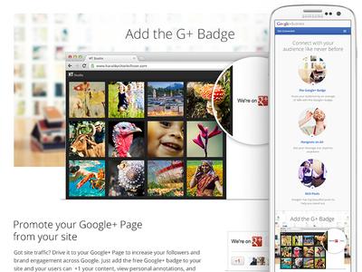 Google+ Responsive