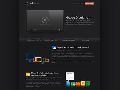 Google Drive - Black
