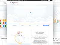 Google Drive Landing page