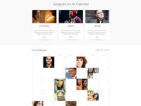 Google+ Hangouts on Air Calendar