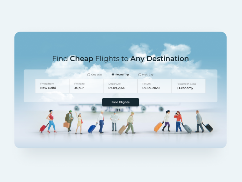 Daily UI 068 Flight Search ui ux design figma design website ui website ui design ui ux uiux ui design travel landing page airplane flight booking app daily ui dailyui daily ui 068 travel website flight search website flight booking flight search