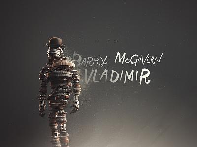 Vladimir  typography title sequence beckett