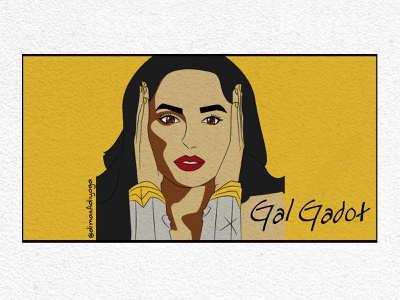 galgadot icon anime animation logo vector branding design graphic design illustration illustrator digital illustration digital painting digitalart