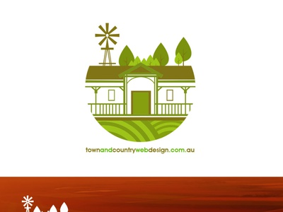TOWNANDCOUNTRY design art designs logo design logodesign animation logo flat branding design graphic design