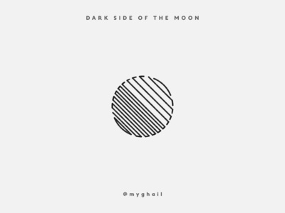 Dark side of the Moon | Logo Concept