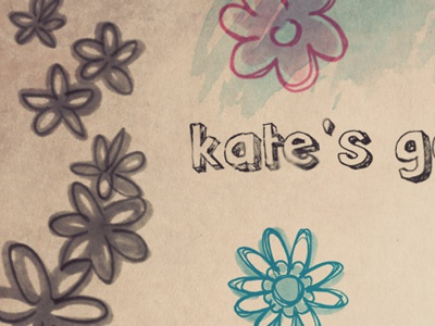 Kate's hand-drawn colour texture kate