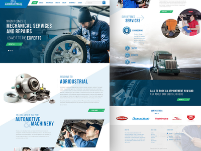 Vehicles  Service Landing Page