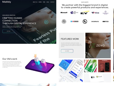 Digital marketing Landing page photoshop branding ux landingpage design web typography ui design