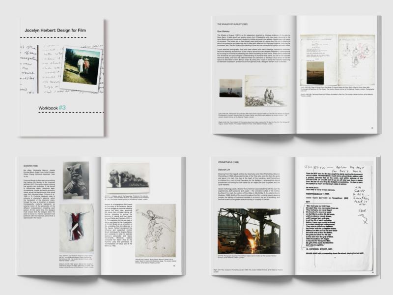 Exhibition Workbook: Jocelyn Herbert