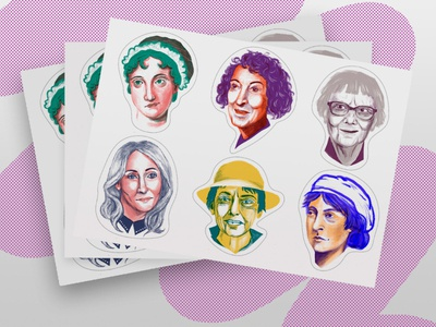 Sticker Pack: Women Who Wrote It