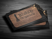 Bishop Organics Business Card