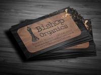 Bishop Organics Business Card