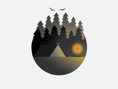 Minimal Campfire