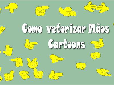 como  Vetorizar  Mãos - how draw hands character 2d character 2dart design flat illustration vector illustrator
