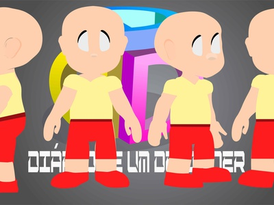 3D CHARACTER TURN AROUND modelo flat vector character 2dart 2danimation 2d 2d character aftereffects illustration illustrator
