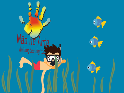 nadador 2dart 2d 2d character 2danimation swimming illustration illustrator design flat animation vector aftereffects
