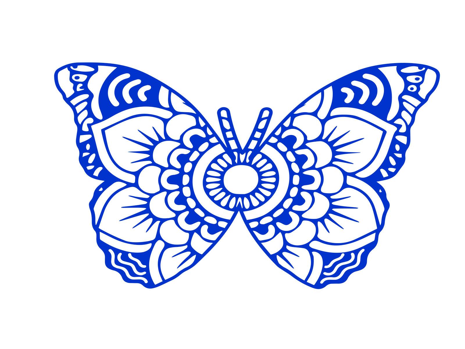 Download butterfly silhouette svg bundle Mandala by criske bankat ...