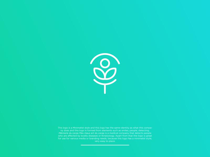 Logo Banding Identity - Memoire Du Corps Mes Maux Art Du Corps iconic logo healthy lifestyle awesome business logomark logotype minimalist logo minimal medical logo medical company branding and identity brand identity brand branding logoawesome logoidentity logobrand logoidea logoinspiration