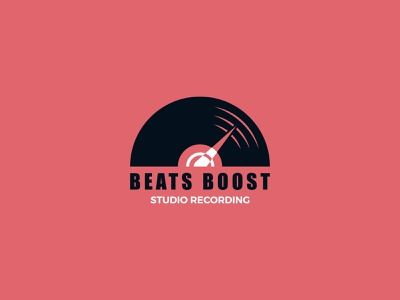 Beats Boost Logo Design bass bass logo speed speed logo boost logo boost logo design music logo music logodesign logotype minimal logo branding