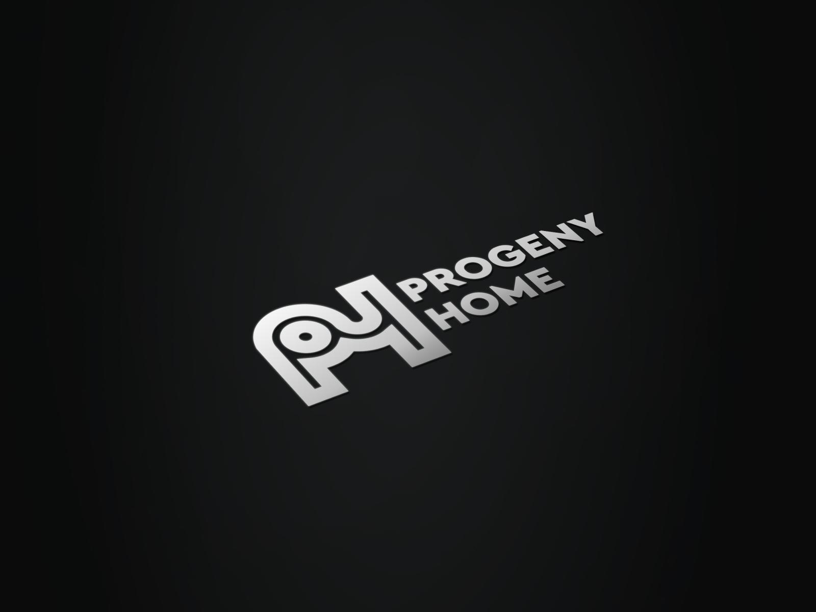 Monogram P H Progeny Home By Fauzi Mutaqin On Dribbble