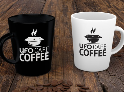 Logo Design UFO Cafe
