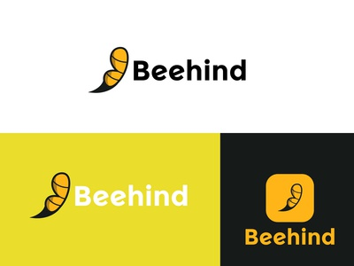 Beehind Logo Design