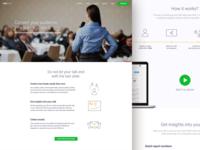 TalkBook Landing Page