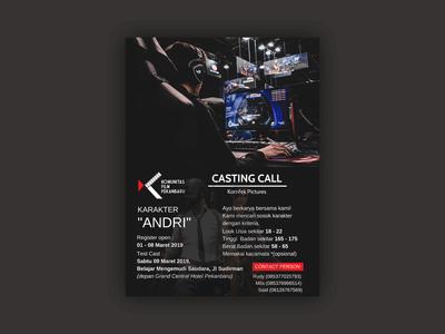 Flyer Casting Call   Andri