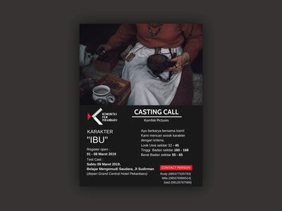 Flyer Casting Call  Ibu