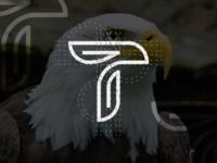 T Logo Process Eagle