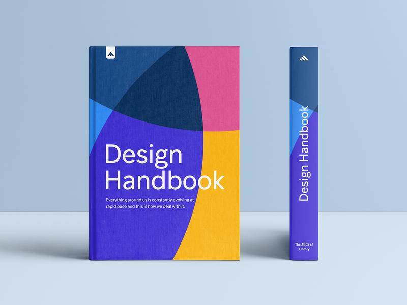Fintory – Design Handbook illustration logo user interface ux ui insurtech design art library design system insurance fintech finance handbook book ui  ux design ui guide design