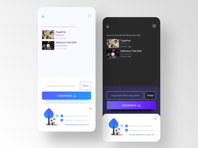 Download video with link ios uiux ui app design app watermark video fine manager files link download youtube download video