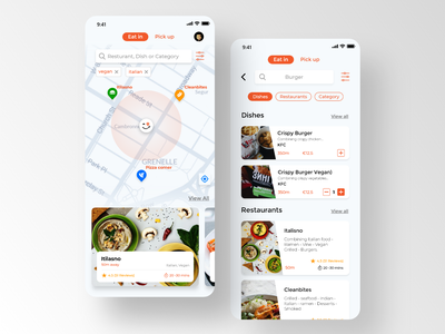 food restaurant app paytoeat delivery redesign food app ui food app design search food restaurant food food apps