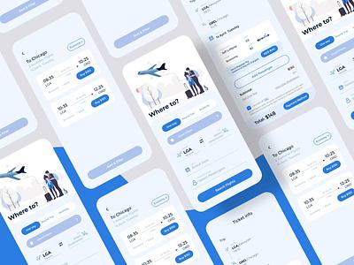 Flight booking app clean app app designer app design airplane flights flight booking booking fight