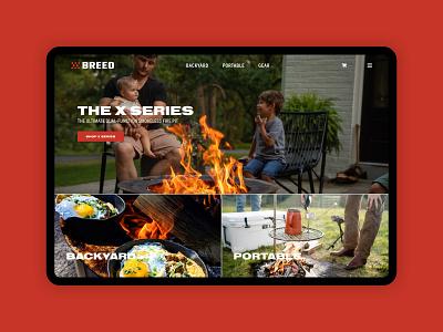 Breeo Website Redesign ux ui website shopify ecommerce design web design graphic design