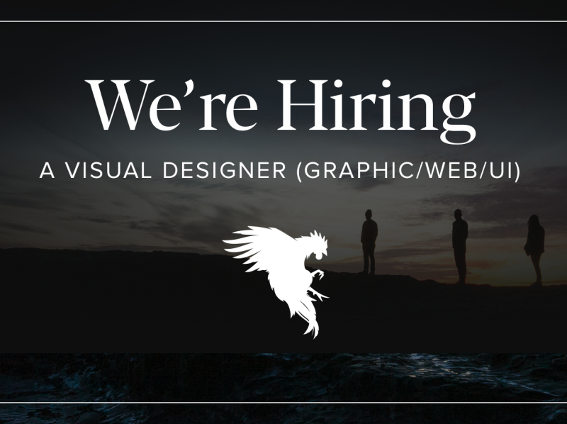 Visual designer job post