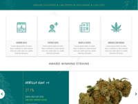 Cannabis Website and Icons