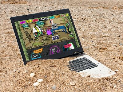 Buell Wetsuits Website wetsuit surf design shopify ecommerce graphic design web design
