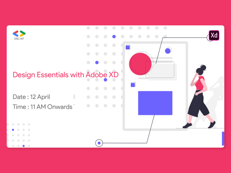 Adobe XD tutorial poster