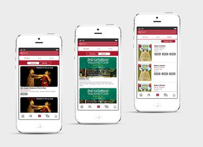 Event App Design -  Concept