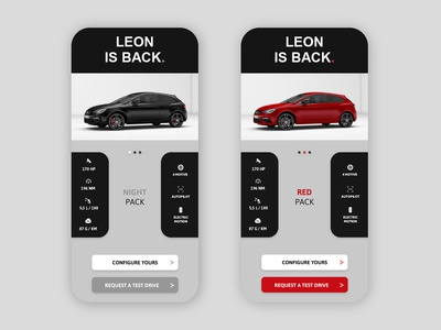 🖤 Leon is back - Car store concept