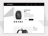 ◼ Hypebag - Minimal bag shop