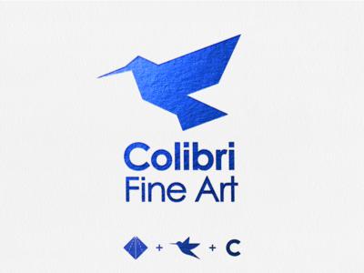 Colibri Fine Art Logo