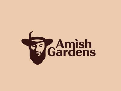 Amish Gardens Logo & Brand Identity