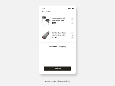 Checkout Page Design appui app design uiux checkout shopping uidesign figmadesign 10ddc